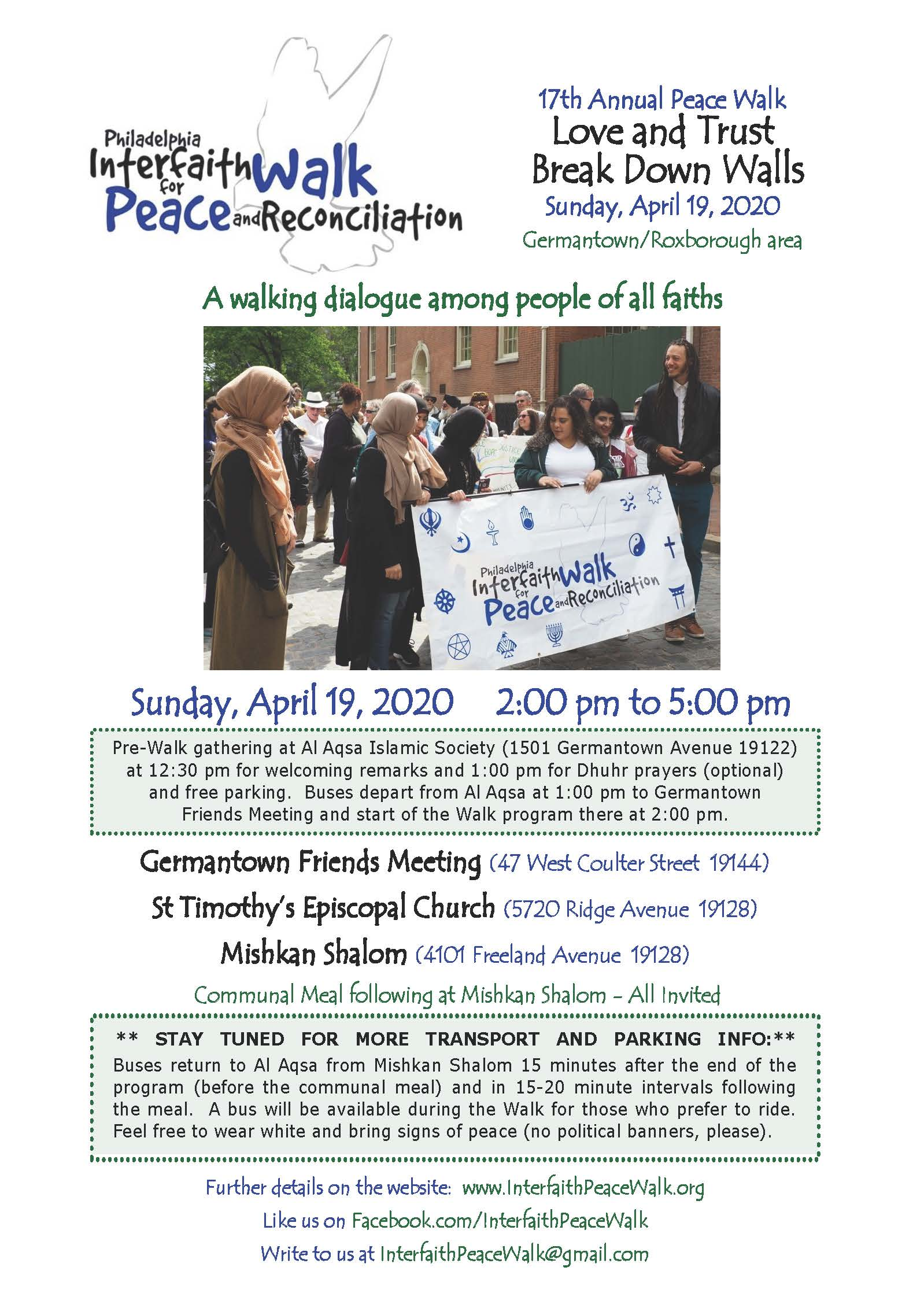 2020 PeaceWalk - STAY TUNED TR